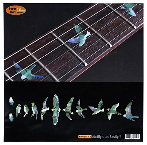 Used, Fret Markers for Guitar & Bass Inlay Sticker Decals for sale  Delivered anywhere in USA