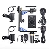 Sevenoak SK-ECH04 Electronic Motorized Pan and Tilt Gimbal Head Control Kit System 360 degree Rotator with 20-feet Remote Control for Canon EOS T6 Nikon D330 D3400 DSLR Camera Camcorder