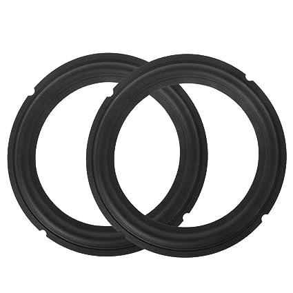 2PCS Speaker Rubber Repair Folding Edge Ring Subwoofer Speaker Repair