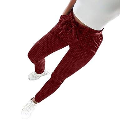 52d56c3eedf67 Pantalons Femme Grande Taille Haute Pas Cher Elastique Mode Chic Slim  Casual ÉTé Crayon Legging Pants