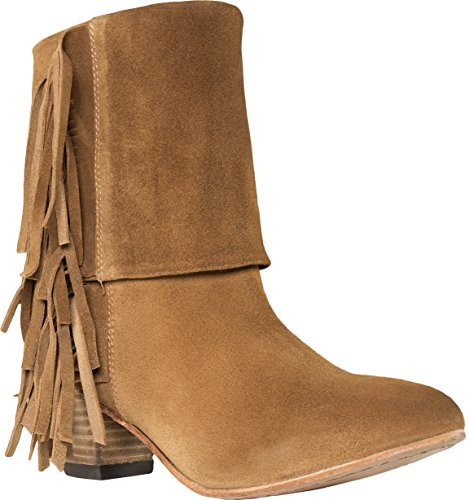Cavalone Women's Suede Leather Short Boots, Dress Booties...