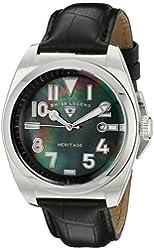 Swiss Legend Men's 20434-01MOP Heritage Black Mother-Of-Pearl Dial Watch