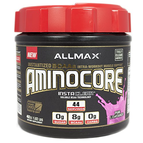 ALLMAX Nutrition AminoCore BCAA (Pink Lemonade, 1.02 lb)