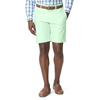 24ed4417a2 Chaps Men's Classic-Fit Oxford Flat Front Shorts at Amazon Men's Clothing  store: