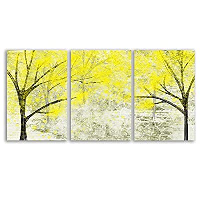 Lines Painting Wall Bedroom Living House x 3 Panels, Premium Product, Grand Print