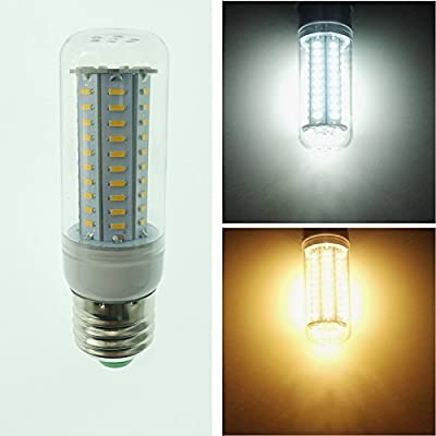 Zehui 80LEDs Spot Light With Smart Power IC E27 220V Dimmable LED Lamp 4014 SMD No Flicker LED Corn Bulb