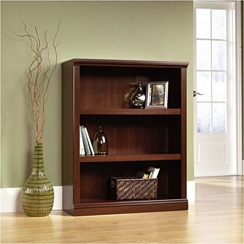 sauder-3-shelf-bookcase-select-cherry-finish