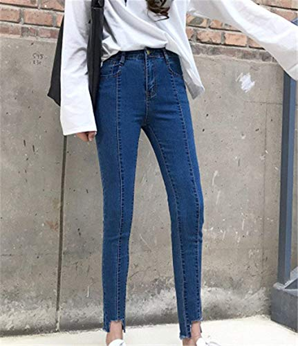Skinny Donna Colour Hx Jeggings Autunno Fashion Pantaloni Chic Jeans Casual 4YYxfwB