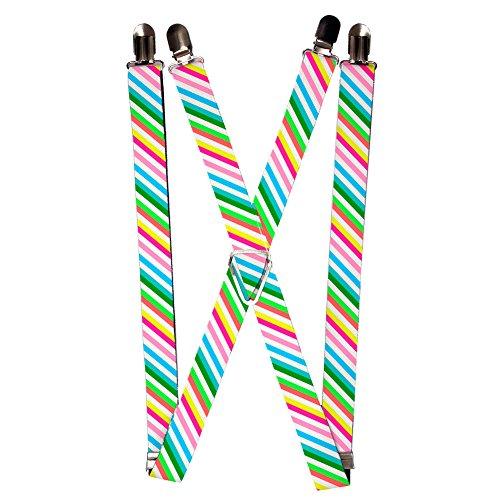 Diagonal Striped Belt - 3