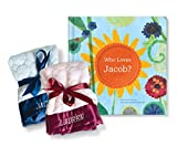 Personalized Custom Name Book Perfect Baby Shower Gift Babies Newborns with Soft Lovie Blanket