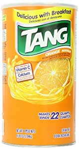 Tang Orange Powdered Drink Mix (Makes 22 Quarts), 72-Ounce (2.04 kg )Canister