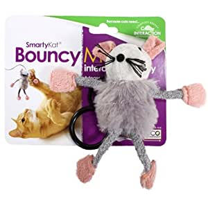 SmartyKat Smarty Kat Bouncy Mouse Interactive Cat Toy, 1 Toy