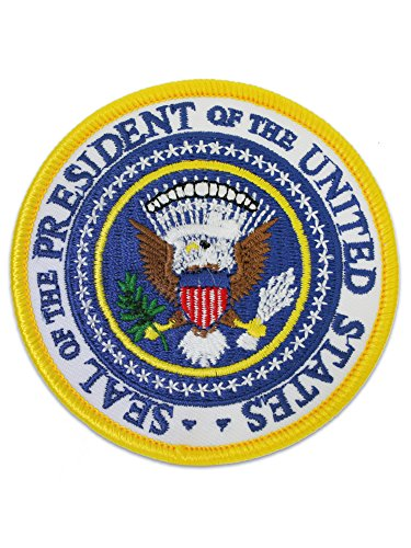 - USA Presidential Seal Embroidered Patch for Jacket or Backpack