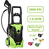 Best electric power washer any - Moroly Electric Power Pressure Washer, 3000 PSI 1.8 Review