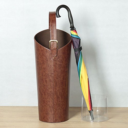 PU leather flower/umbrella/rolled painting storage vase home decorations by Rugfurnishing