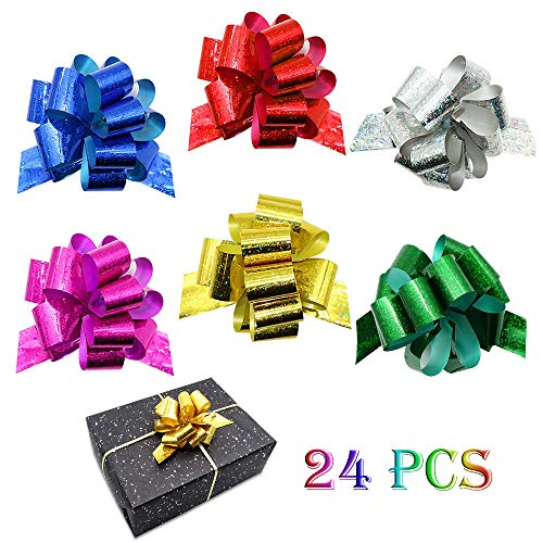 Gift Present - 24PCS Gift Pull Bows- 4