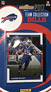 Buffalo Bills 2017 Donruss Factory Sealed Team Set with LeSean McCoy, Tyrod Taylor, Bruce Smith plus