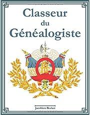 Classeur du généalogiste: 127 fiches informatives sur les ancêtres, index des noms, tableau généalogique sur 7 générations, journal de recherche, liste de tâches à faire et beaucoup de place pour les notes.