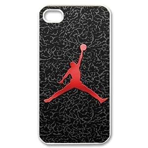 Custom Your Own Jordan iPhone 4/4S Case , personalised Jordan Iphone 4 Cover