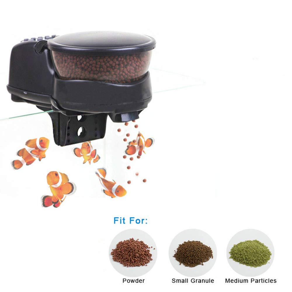 Automatic Feeding Fish Mini Automatic Feeding Fish Tank Timing Quantitative Feeder Long Time Fish Feeding Device Set Automatic Feeding Fish