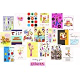 Handy Variety Pack 20 Mixed Birthday & Greeting Cards