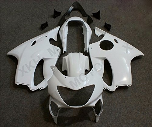 2000 Abs Fairing - XKH Group Unpainted ABS Fairing Bodywork Set For Honda CBR600 F4 CBR 600 1999-2000 99 00