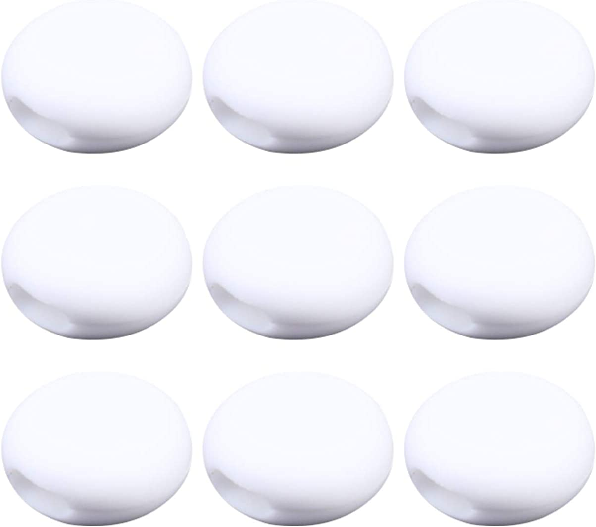 EXCEART 100Pcs Silicone Cord Locks End Stopper Fastener Slider Toggle Adjustable Buckle for DIY Face Cover Making