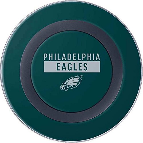 Skinit NFL Philadelphia Eagles Wireless Charger Skin - Philadelphia Eagles Green Performance Series Design - Ultra Thin, Lightweight Vinyl Decal Protection ()
