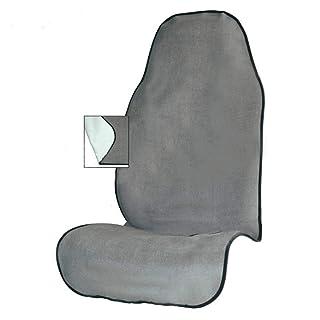 1 pezzo Coprisedile anteriore Grand Comfort per Samurai 1998//11-2004//12 grigio