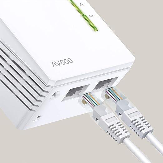 TP-Link TL-WPA4220T KIT - Extensor Universal de Cobertura Wi-Fi AV600+AC300, 5 Puertos, Cable Ethernet (3-Pack): Tp-Link: Amazon.es: Informática