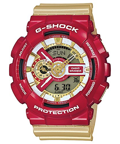 Casio G Shock Analog Digital GA110CS 4A