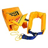 Lalizas 20440 Rescue System Life-Link M.O.B Boat Throw Ring, Yellow