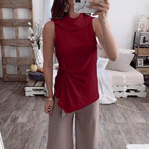 shirt Canotte estivo originale Top Elegante T Abbigliamento Camicette puro vino Donna Bobolover Colore Yoga 4Rq3AL5j