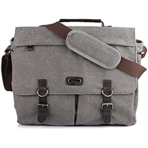 b3f93615cafa Amazon.com: Vonxury Canvas Mens Messenger Bag Vintage 15 inch Laptop ...