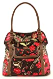 Oilily Paisley Flower Shopper - Brown
