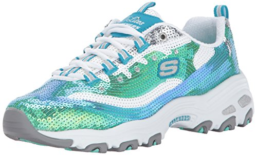 Skechers D'Lites-Made To Shine Fibra sintética