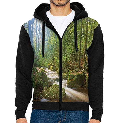 3D Printed Hoodie Sweatshirts,Reserve on The River,Hoodie Casual Pocket Sweatshirt