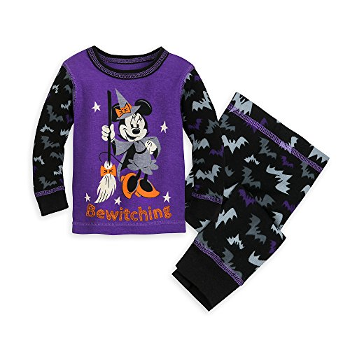 Disney Minnie Mouse ''Bewitching'' PJ PALS for Baby Size 3-6 MO Multi by Disney