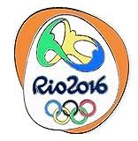 Rio de Janeiro 2016 Olympics Logo Pin %2
