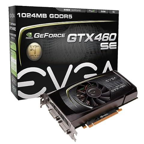 EVGA GeForce GTX460 SE 1 GB GDDR5 PCI-Express 2.0 Graphics Card 01G-P3-1366-TR (Evga Geforce Gtx 460 1 Gb Gddr5)