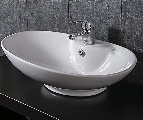 waschbecken oval mit free oval material kunststoff silber hochglnzend with waschbecken oval mit. Black Bedroom Furniture Sets. Home Design Ideas