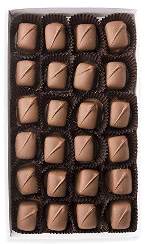 Mrs. Cavanaugh's Chocolate Dipped Caramel | Premium Gift Box Candy & Gourmet Sweets | 4 oz Dark ()