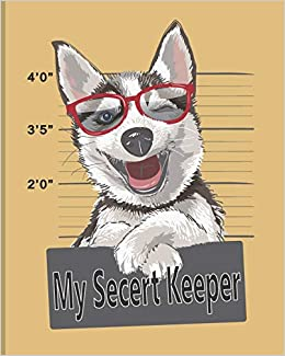 My Secret Keeper: Password Book Journal And Logbook To Track and