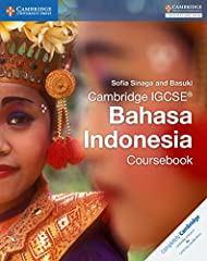 This first edition has been written by experienced teachers to meet the requirements for the latest Cambridge IGCSE® Bahasa Indonesia syllabus (0538). With comprehensive coverage of the Cambridge IGCSE® Bahasa Indonesia syllabus, this Courseb...