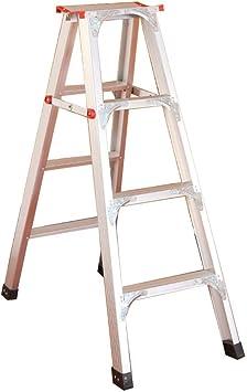 Extensibles Escalera de tijera plegable - Escalera de aluminio para electricistas con 2/3 pasos de tapetes antideslizantes Certificación EN131 (Size : 3 steps): Amazon.es: Bricolaje y herramientas