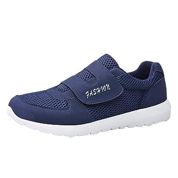 LuckyGirls Zapatos De Malla para Hombre Antideslizante Zapatos ...