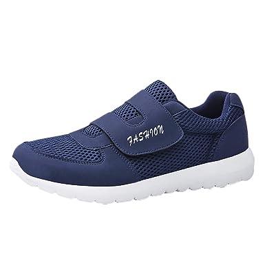ABsoar Schuhe Herren Sneaker Sport Laufschuh Casual Flache Sneaker Lace Up Verschleißfeste Turnschuhe Leichte Rutschfeste Wanderschuhe