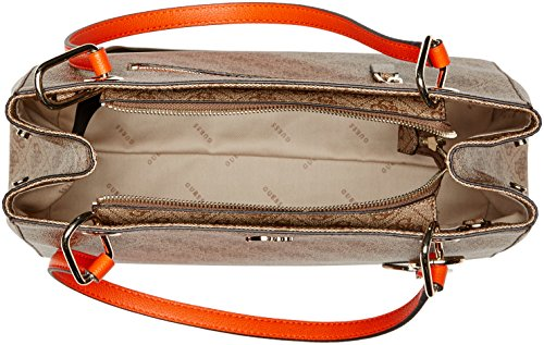 Multi x H bandoulière Brown Guess Bags L Hobo femme 5 Multicolore 15x24x32 W cm Sacs Oq70w