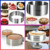 Cade Stainless Steel 6 to12 Inch Adjustable Cake