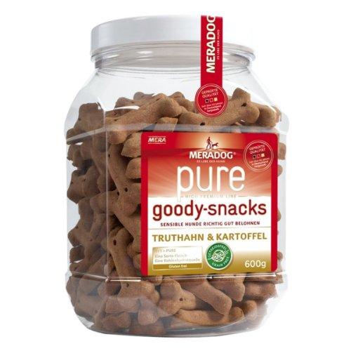 Mera Dog Dog Goody Snacks Truthahn&Kartoffel 600g